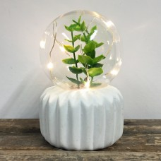 Plant Lamp - Leaf Bulb - Ribbed Base