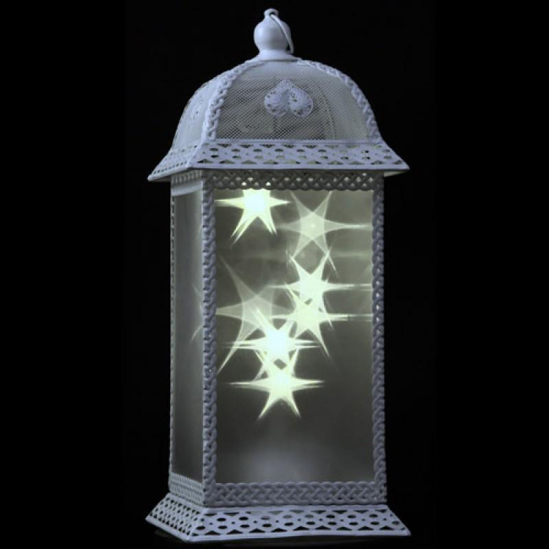 Ice star lantern white luxa london