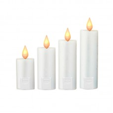 Foursome White Candlesticker