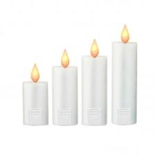 Foursome White Candlesticker