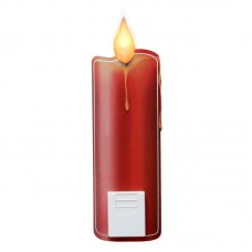Single Red Candlesticker