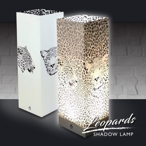 Leopards Shadow Lamp