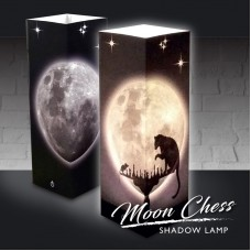 Moon Chess Shadow Lamp
