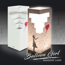 Balloon Girl Shadow Lamp