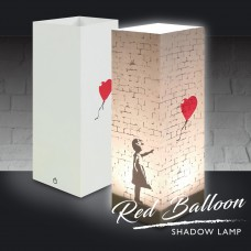 Red Balloon Shadow Lamp