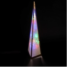 Rainbow Starburst Pyramid - 60cm