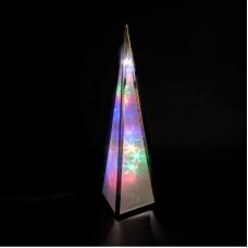 Rainbow Star Flower Pyramid 45cm