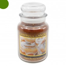 Cheerful Warm & Gooey Cinnamon Buns
