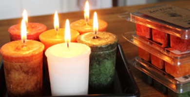 Cheerful Melts and Votives