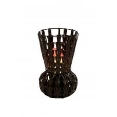 Chevron High Vase