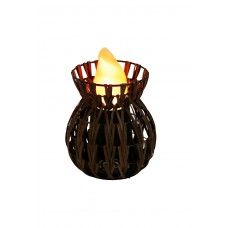 Chevron Low Vase