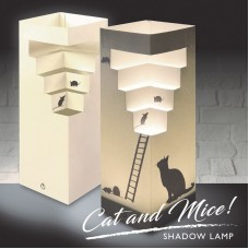 Cat & Mice Shadow Lamp