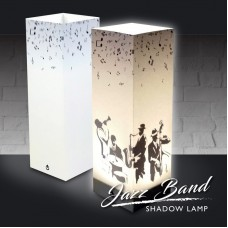 Jazz Band Shadow Lamp