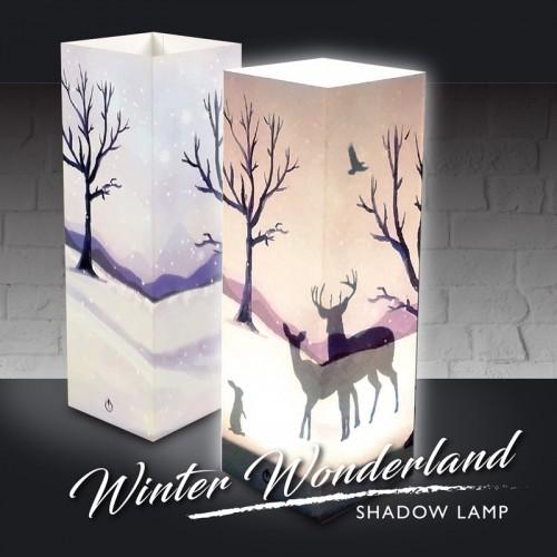 Winter Wonderland Shadow Lamp